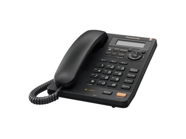 Panasonic KX-TS620B 1-line Operation Corded Phone Integrated Answering Machine