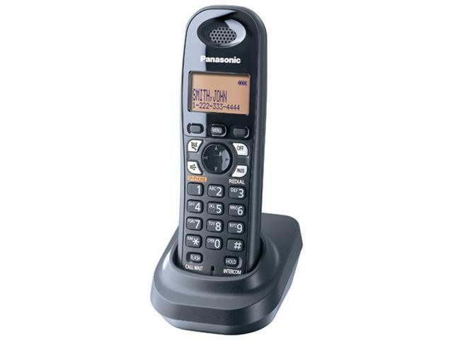 Panasonic KX-TGA430B 5.8 GHz FHSS Extra Handset for TG4300 Series Phone