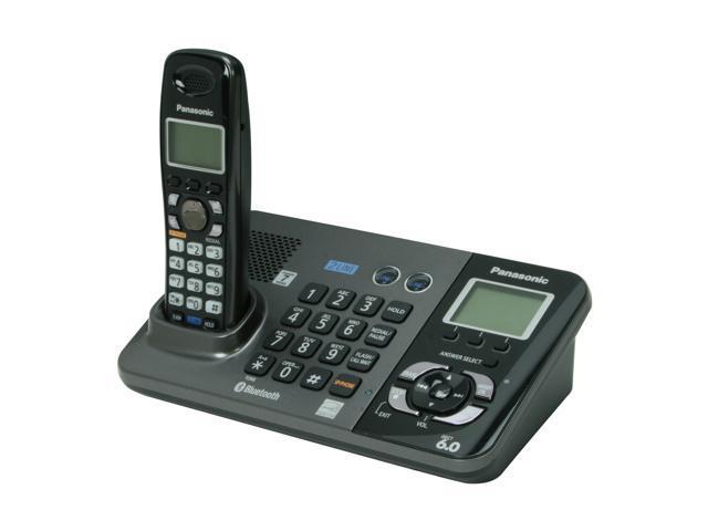 Panasonic KX-TG9381T 1.9 GHz Digital DECT 6.0 1X Handsets Cordless Phone Integrated Answering Machine
