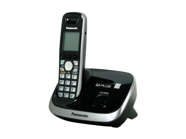 Panasonic KX-TG6511B 1.9 GHz Digital DECT 6.0 1X Handsets Cordless Phone