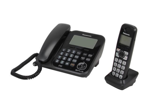 Panasonic KX-TG4771B 1.9 GHz Digital DECT 6.0 1X Handsets Cordless Phones