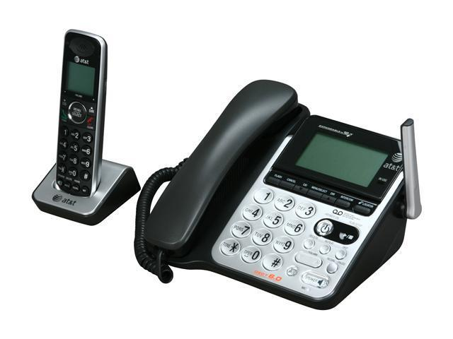 AT&T CL84100 DECT 6.0 corded/cordless answering system