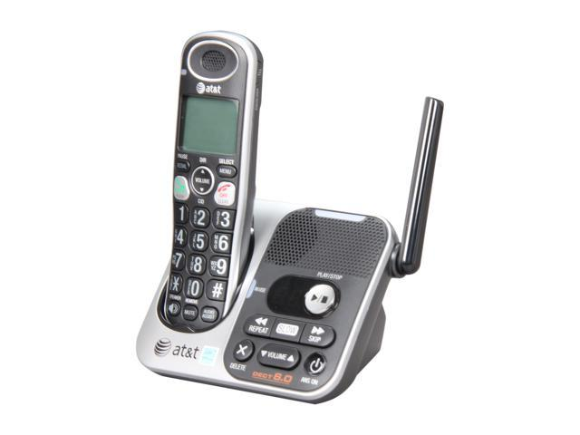 AT&T TL32100 1.9 GHz Digital DECT 6.0 1X Handsets Cordless Phone Integrated Answering Machine