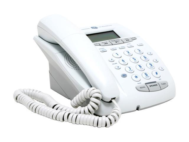 GE 29897GE1-A 1-line Operation Corded Phones Integrated Answering Machine