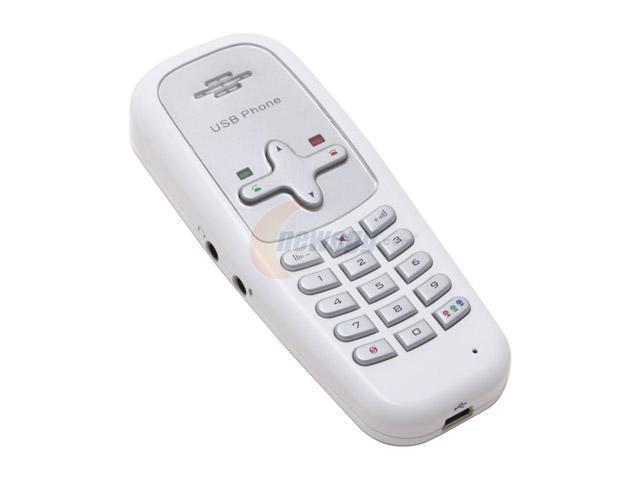GWC AA2600 White USB Phone