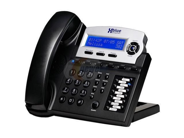 XBlue Networks XB1670-00 6-line Operation Corded Phone