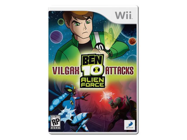 Ben 10: Alien Force Vilgax Attacks Wii Game
