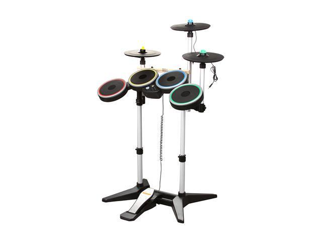madcatz wii rock band 3 wireless pro drums and cymbal pack