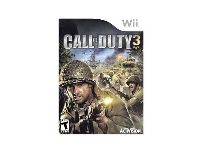Call of Duty 3 Wii Game
