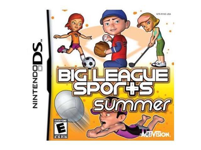Big League Sports: Summer Sports Nintendo DS Game