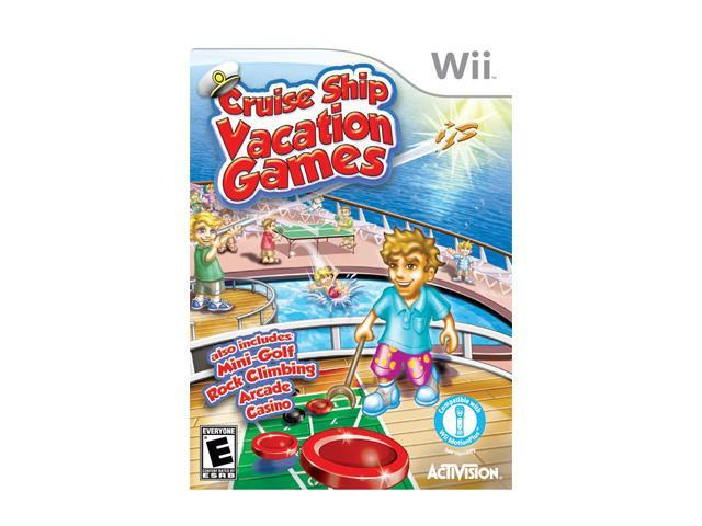 Cruise Ship Vacation Games Wii Game