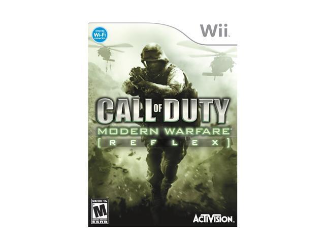 Call of Duty 4: Modern Warfare: Reflex Wii Game