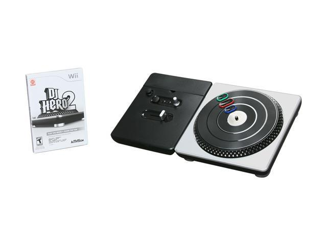 DJ Hero 2 Turntable Bundle Wii Game