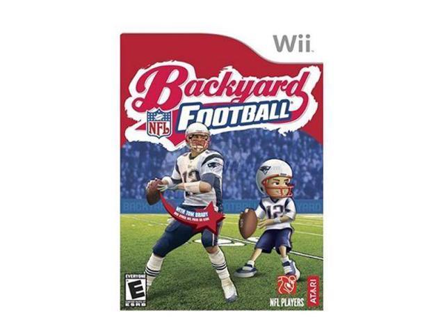backyard football wii game