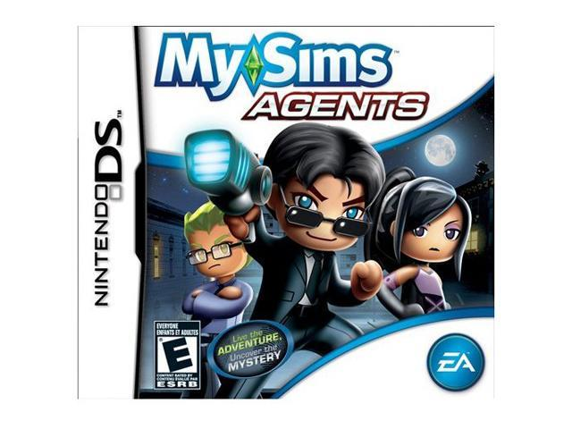 MySims Agents Nintendo DS Game