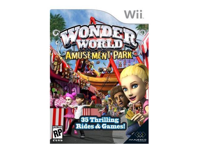 Wonder World Amusement Park Wii Game