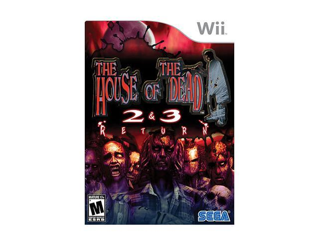 House of the Dead 2 & 3 Return Wii Game