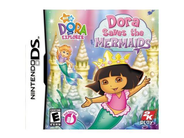 Dora the Explorer: Dora Saves the Mermaids Nintendo DS Game