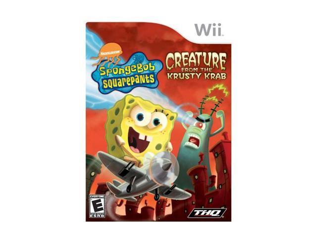 SpongeBob SquarePants: Creature from the Krusty Krab Wii Game