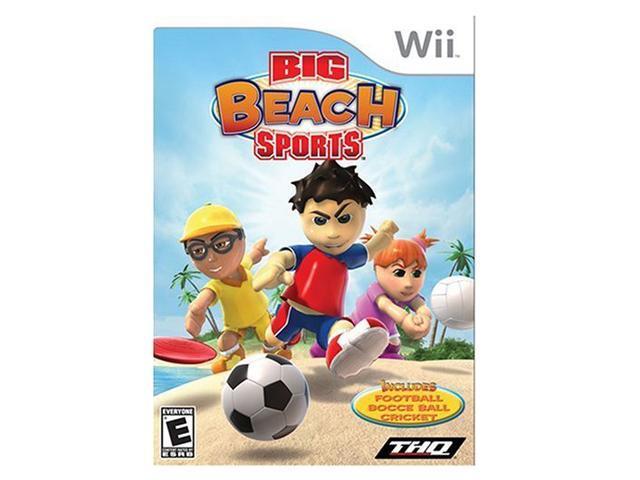 Big Beach Sports Wii Game