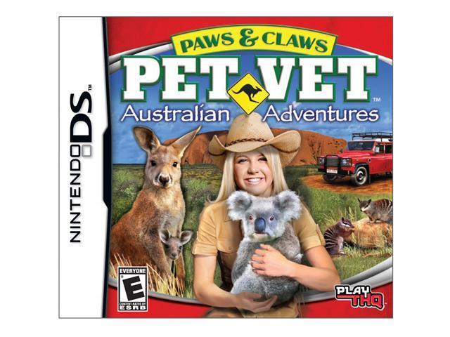 Paws & Claws Pet vet Australian Adventure Nintendo DS Game
