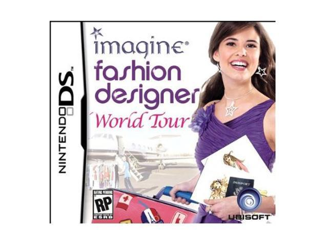 Imagine Fashion Designer World Tour Nintendo Ds Game