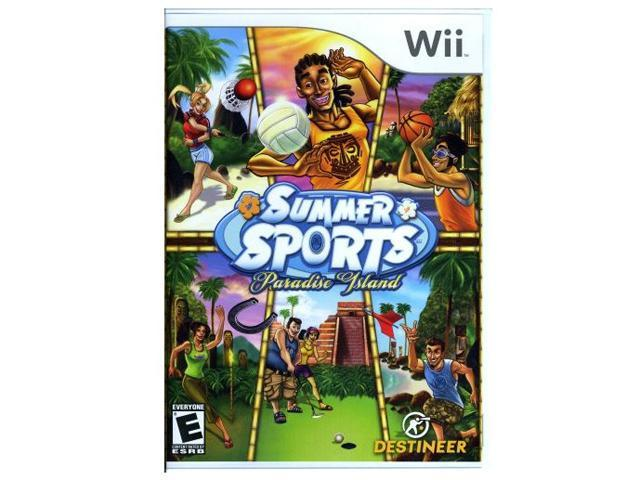 Summer Sports: Paradise Island Wii Game