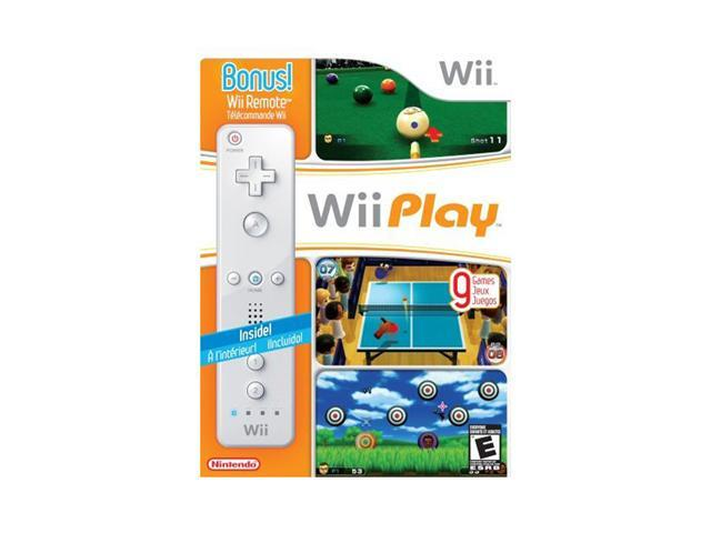 Wii Play with Remote Wii Game