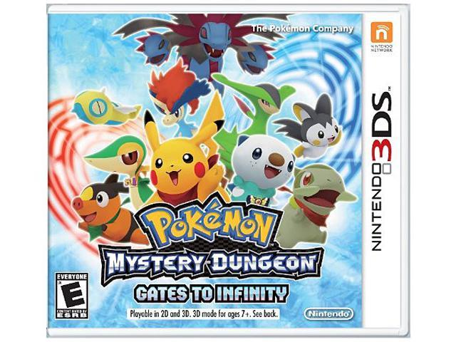 Pokemon Mystery Dungeon: Gates to Infinity Nintendo 3DS Game