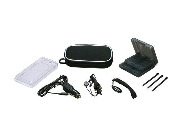 dreamGEAR 10 in 1 Starter Kit (Black) for DSi