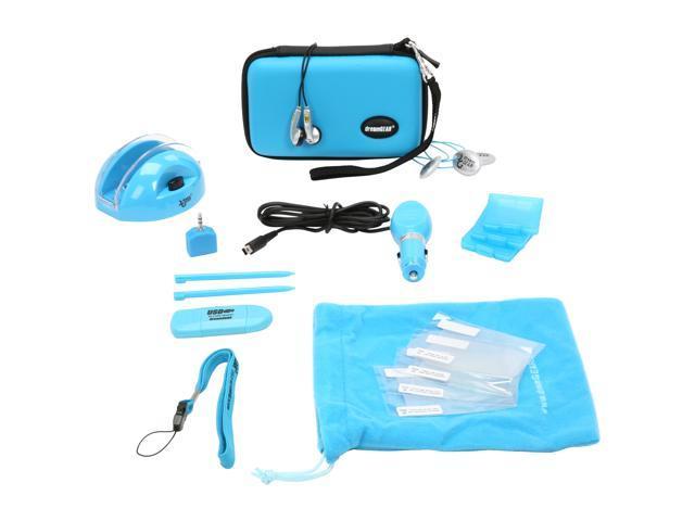 dreamGEAR Nintendo DSi 18 in 1 Starter Kit (Blue)