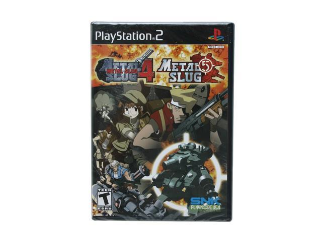 Metal Slug 4 & 5 Combo Game