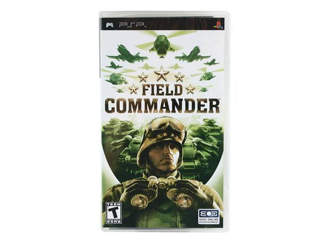 Field Commander PSP Game SONY