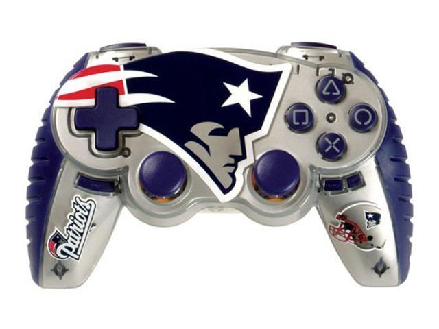 mad catz officially licensed nfl wireless controller for ps3 new england patriots. Black Bedroom Furniture Sets. Home Design Ideas