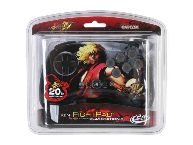 Mad Catz Official Street Fighter IV FightPad for Sony PS3 - Ken