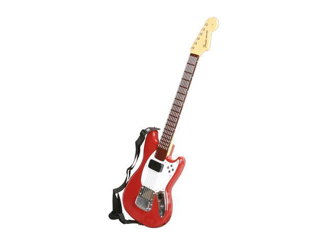 MadCatz PS3 Rock Band 3 Wireless Fender  Mustang Pro-Guitar Controller Red