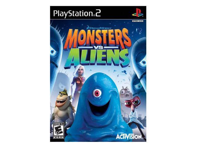 Monster Vs Aliens Game