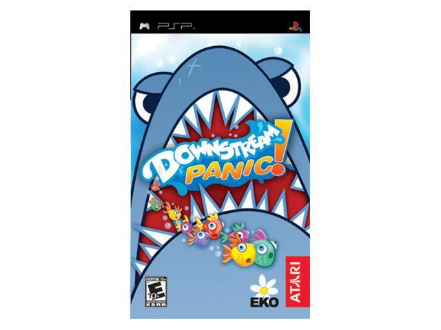 Downstream Panic! PSP Game ATARI