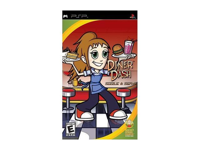 Diner Dash PSP Game Eidos