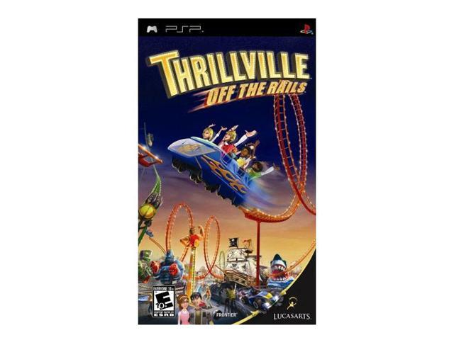 Thrillville: Off the Rails PSP Game LUCASARTS