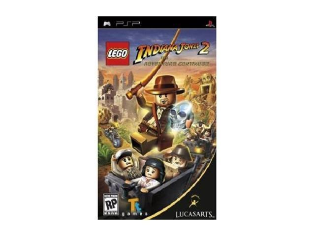 Lego Indiana Jones 2: Adventure Continues PSP Game LUCASARTS