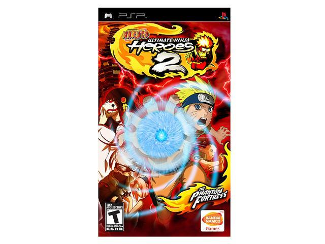 Naruto Ultimate Ninja Heroes 2: The Phantom Fortress PSP Game Namco