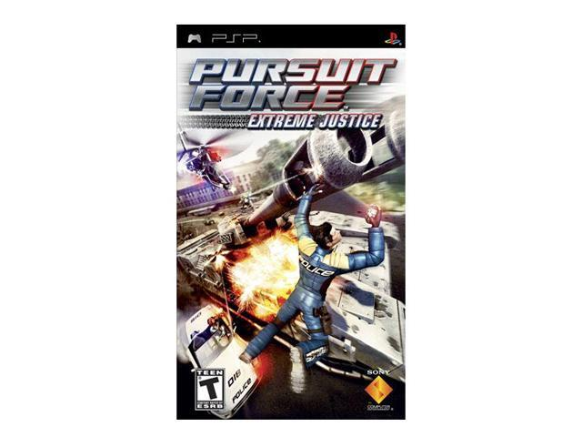 Pursuit Force 2: Extreme Justice PSP Game SONY