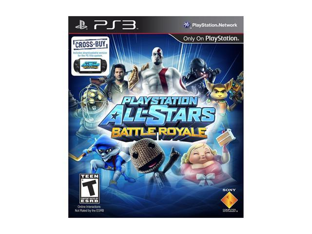 Playstation All Stars Battle Royale PlayStation 3