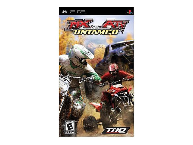 MX vs. ATV Untamed PSP Game THQ