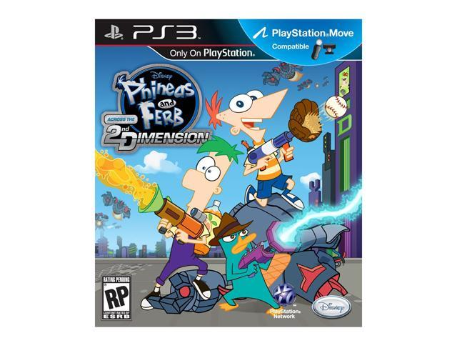 Phineas and Ferb: Across the 2nd Dimension PlayStation 3
