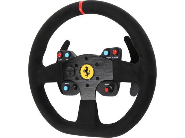thrustmaster vg ferrari 599xx evo wheel add-on, alcantara edition