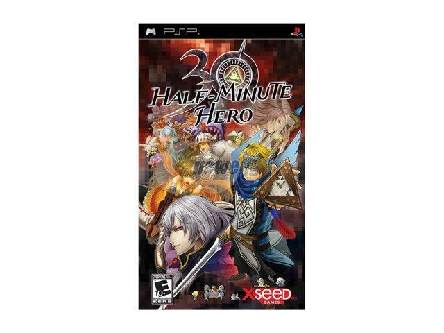 Half Minute Hero PSP Game XSEED Games
