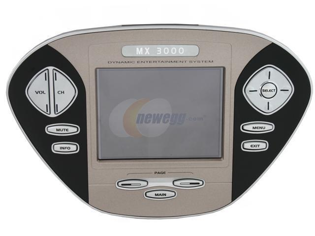 """URC MX-3000 Infrared / RF Universal Complete Remote Control w/ 3.5"""" Color Touch Screen"""
