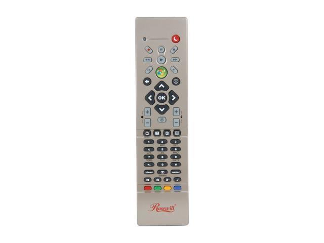 Rosewill RHRC-12001 Infrared Windows 7 Certified MCE/ Windows 8 MCE Remote Control with Netflix Function